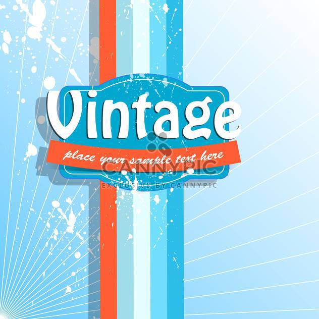 Vector colorful retro background with spray paint signs - Free vector #126391