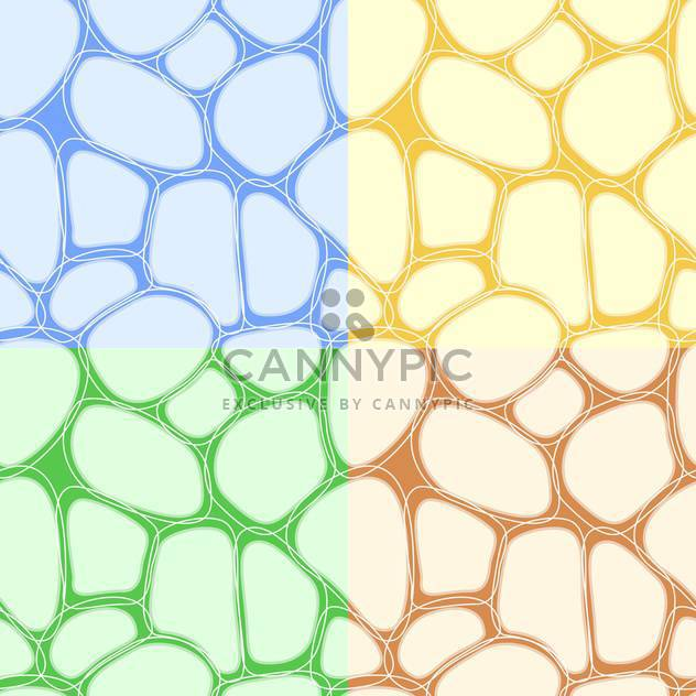 Abstract colorful vector background with stones - Free vector #126831