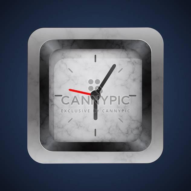 Vektor Silber Uhr Hintergrund - Kostenloses vector #128991