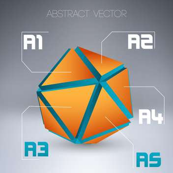 abstract vector design background - Free vector #129051