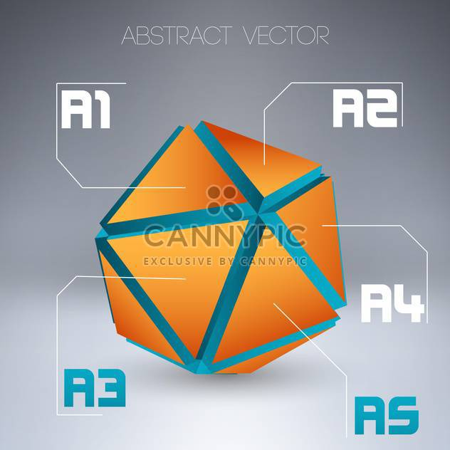 abstraktes Vektor-Design-Hintergrund - Kostenloses vector #129051