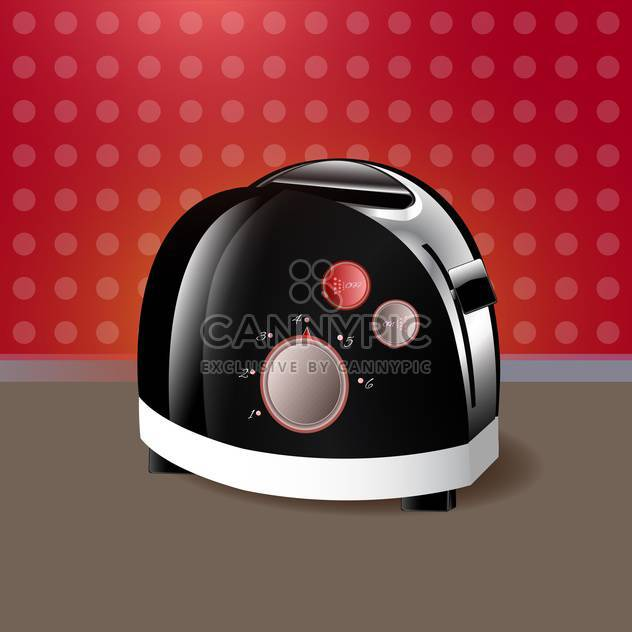 kitchen toaster vector illustration - Free vector #130311