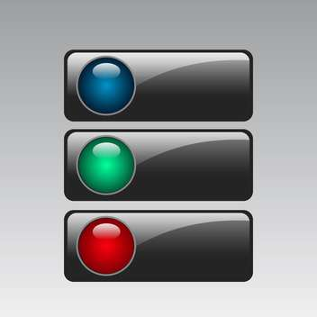 Vector color web buttons set - бесплатный vector #131151