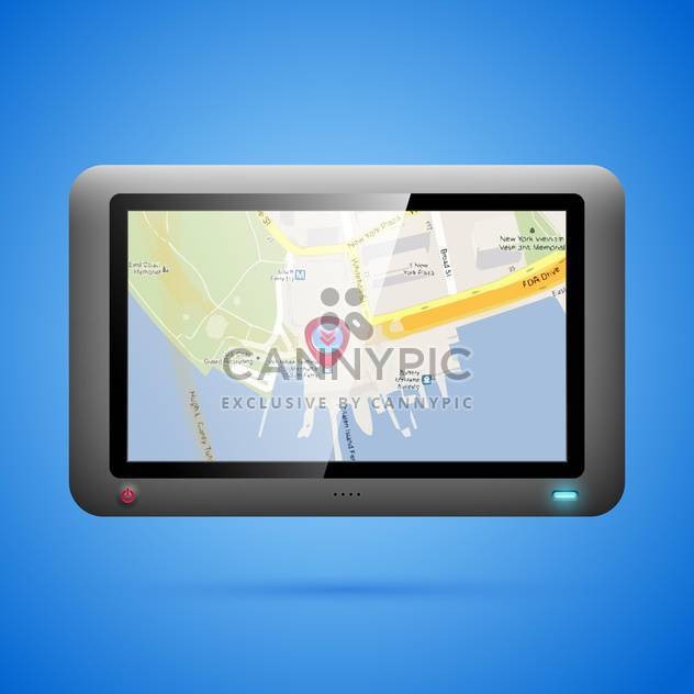 Gps navigation concept vector illustration - Free vector #131201
