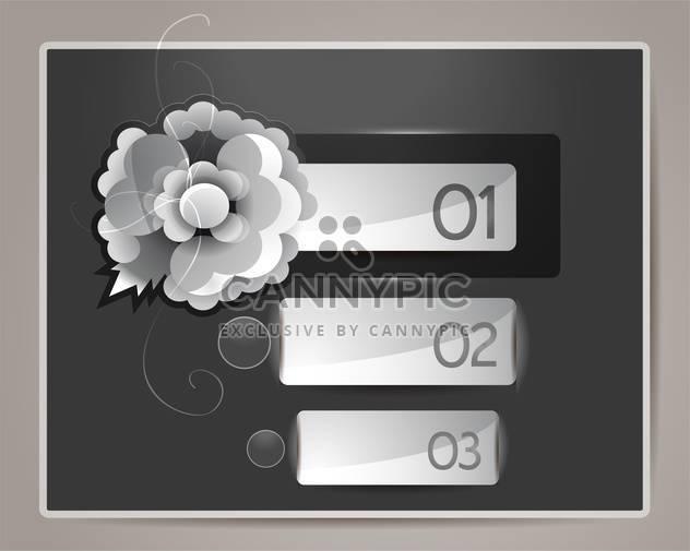 Modern web design template illustration - Free vector #131291