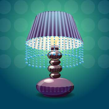 Vector image of the lamp shade - vector gratuit #131531