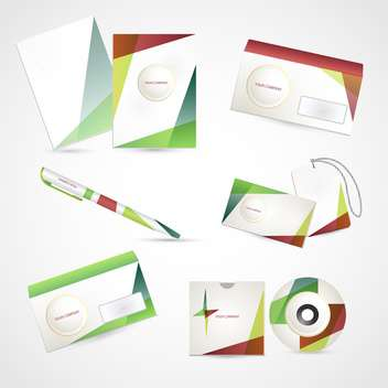 Selected corporate templates,vector Illustration - vector #132391 gratis