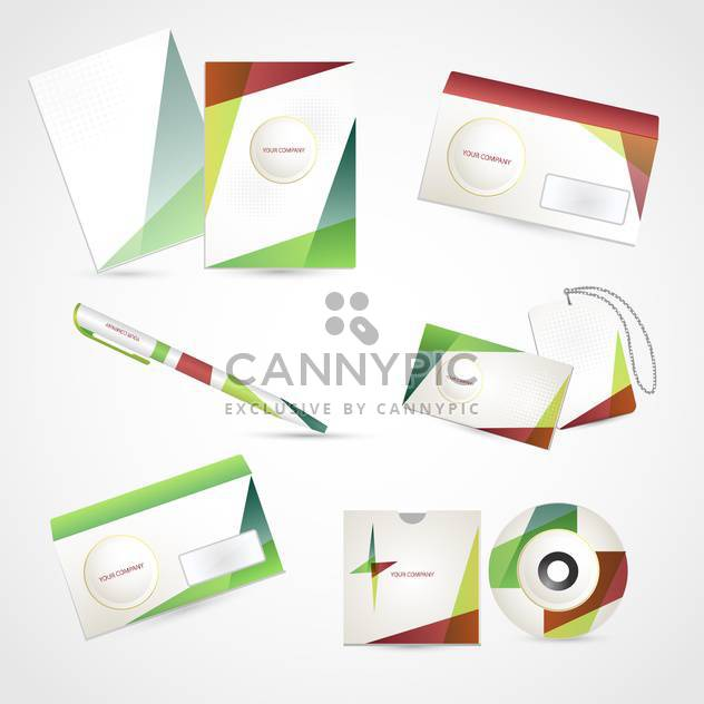 Selected corporate templates,vector Illustration - Free vector #132391