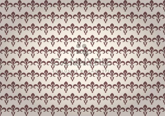 seamless damask vector pattern - Free vector #132541