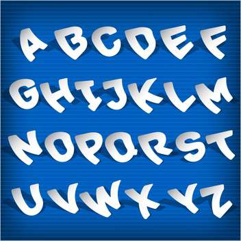 education alphabet vector letters set - Free vector #132701
