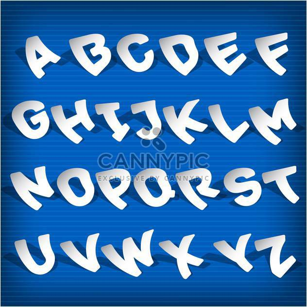 Bildung Alphabet Vektor Buchstaben Satz - Free vector #132701