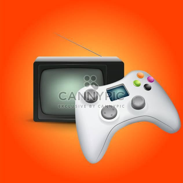 Vektor-Spiel Gadget-Konsole - Kostenloses vector #133021