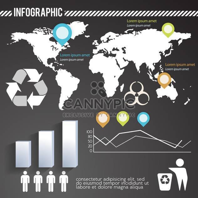 Geschäft Infographik Elemente festlegen - Kostenloses vector #133171