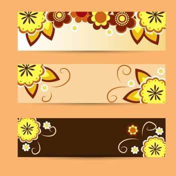 vector floral summer background - vector #133221 gratis
