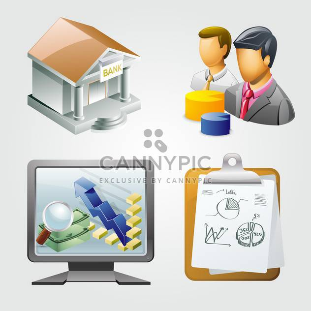 Abbildung Business Vektor Elemente - Kostenloses vector #133281