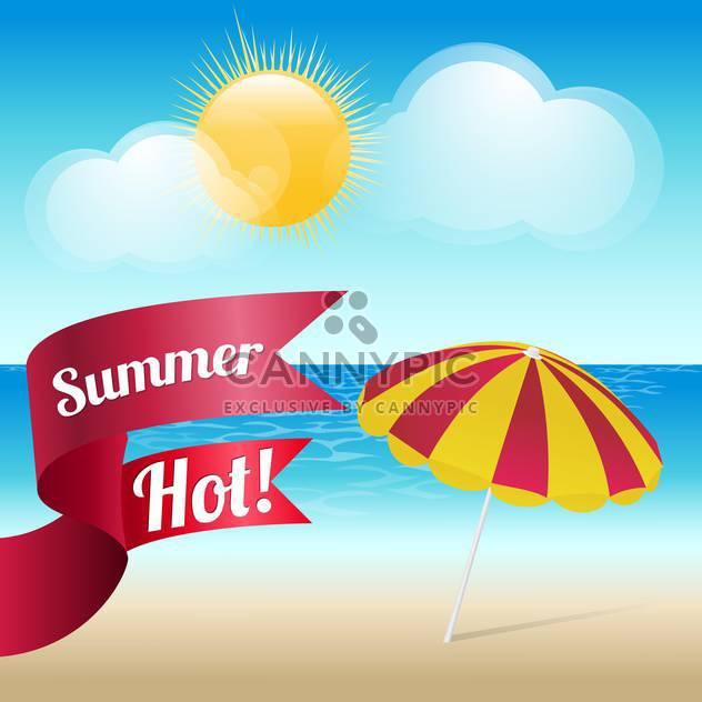 Sommer-Grunge texturierte Hintergrund - Kostenloses vector #133931