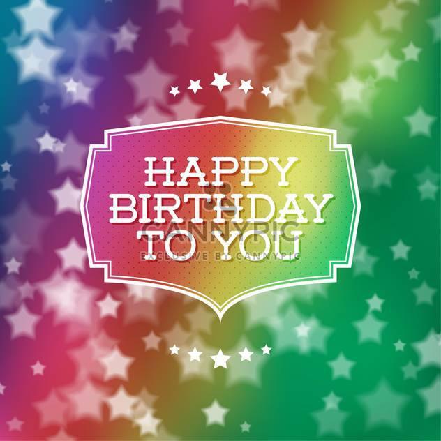 Happy Birthday Plakat Hintergrund - Kostenloses vector #134171