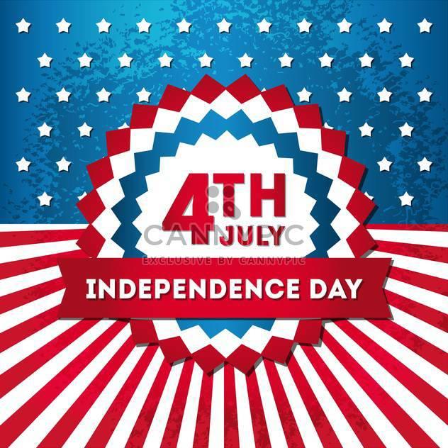 USA-Unabhängigkeitstag-Symbole - Kostenloses vector #134501