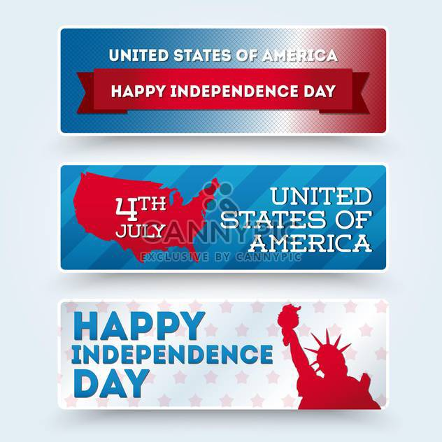 usa independence day symbols - Free vector #134511