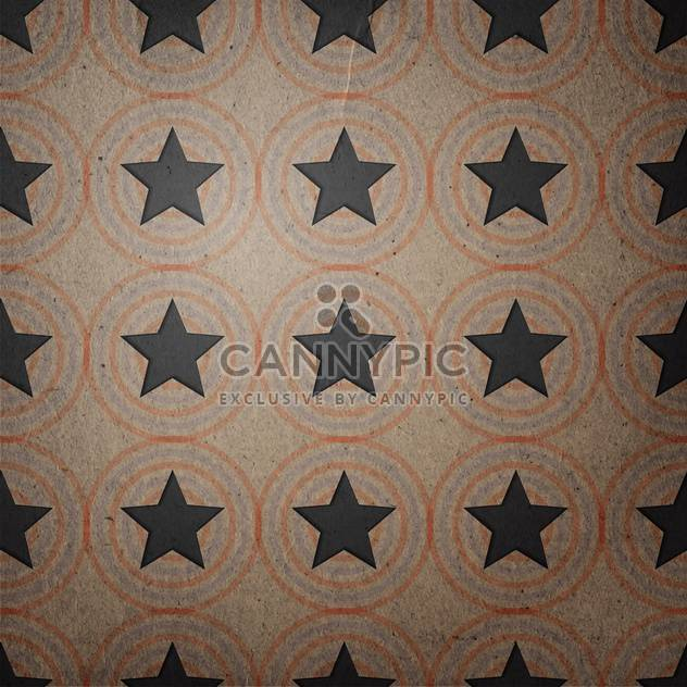 monochrome vintage texture with stars - Free vector #134741