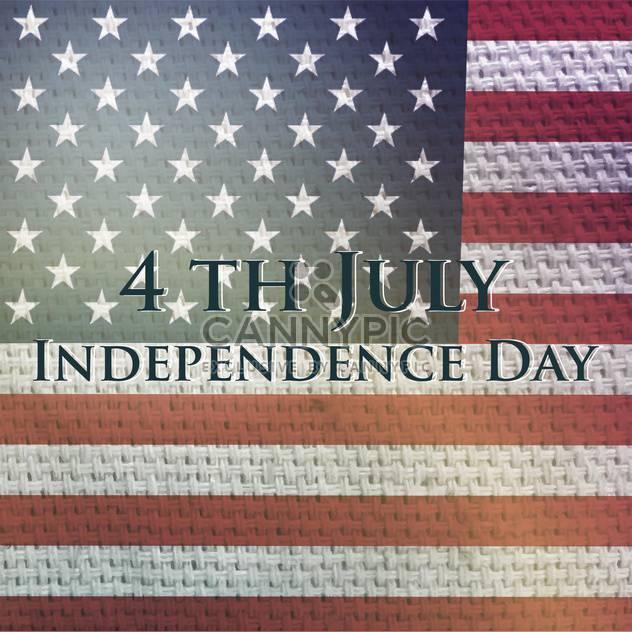 Jahrgang Vektor Unabhängigkeitstag Hintergrund - Free vector #134751