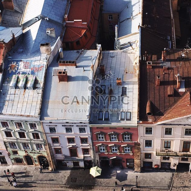 View of the roofs in Lviv, Ukraine - Free image #136231