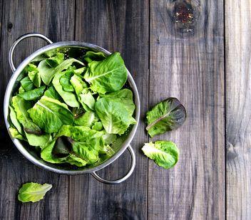 Fresh green salat - image #136641 gratis