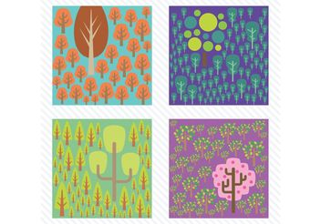 Tree Vector Backgrounds - Free vector #138691