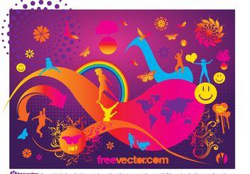 Joy Vector - vector gratuit #138861