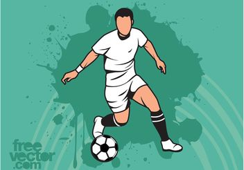 Football Action - vector gratuit #138921