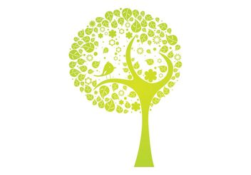 Vector abstract tree - Free vector #139481