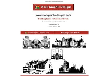 Building Series - vector #139581 gratis