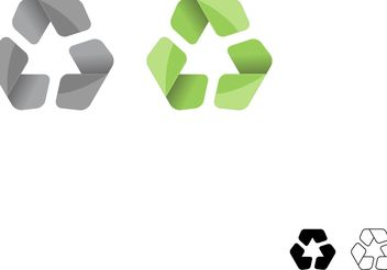 Symbol Vector for Recycle Symbol - Kostenloses vector #139631