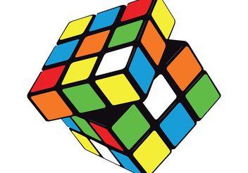 Vector Rubik's cube - Kostenloses vector #139651