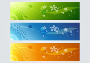 Colorful Banner Graphics - vector gratuit #139901
