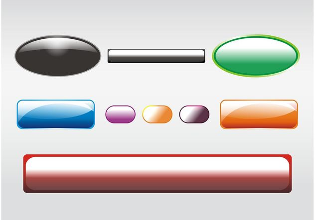 Shiny Buttons Clip Art - vector #140011 gratis