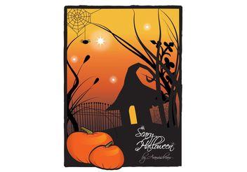 Halloween Pumpkins - Free vector #140411