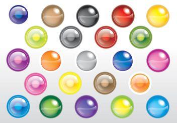 Spheres Vectors - Free vector #140471