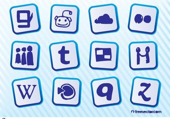 Social Media Logos - Kostenloses vector #141741