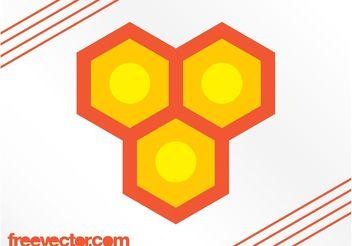 Honeycomb Logo Vector - Free vector #142671