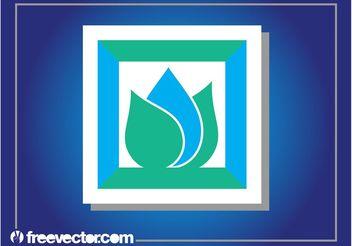 Abstract Sticker Design Logo - vector gratuit #142691