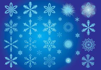 Snowflake Art - Free vector #142971
