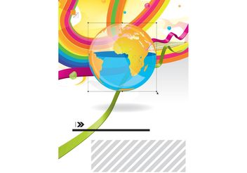 Pop Art World - Free vector #143101