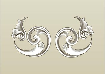 Flourishes Vector - Free vector #143321