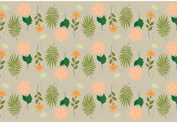 Floral Vector Pattern - Free vector #143501
