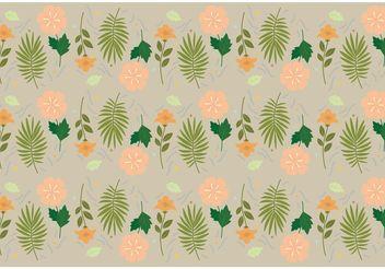 Floral Vector Pattern - Kostenloses vector #143501
