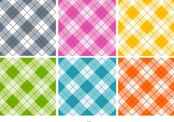 Seamless Textile Patterns - Kostenloses vector #143581
