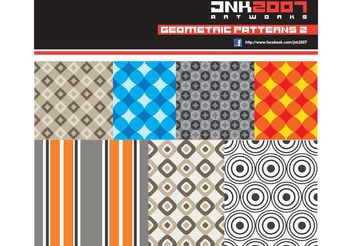 Geometric patterns 2 - Free vector #143591