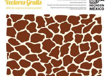 Giraffe Texture Vector - Free vector #143771