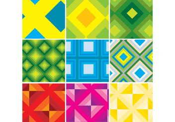 Seventies Patterns - Free vector #144321
